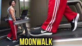 Tiger Shroff's MOON WALK & GYM Workout CRAZY VIDEO