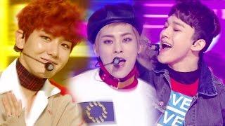 《UNIT》 EXO-CBX (첸백시) - Hey Mama! @인기가요 Inkigayo 20161113
