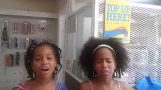 Girl on Fire-Alicia Keys Cover by Tymia and Tynaz