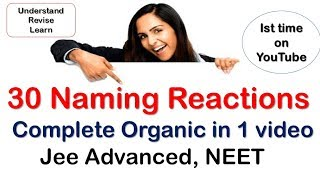organic reactions || Naming Reaction || Reaction Mechanism || Organic Tricks || Name Reaction width=