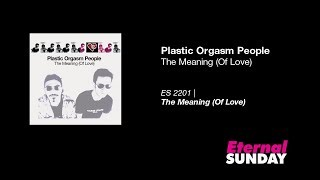Plastic Orgasm People - The Meaning (Of Love) [Synthpop]