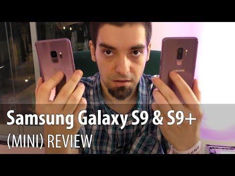 Samsung Galaxy S9 și Galaxy S9+ (Mini) Review în Limba Română