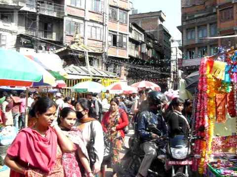 Market near Durbar Square, Kathmandu, Nepal