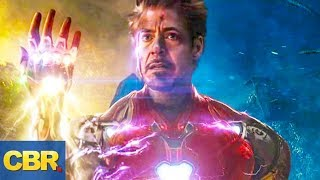What Nobody Realized About This Iron-Man Scene In Avengers Endgame