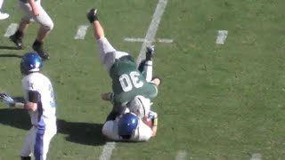 Big Hits - Wrestlers simply make better Football Players
