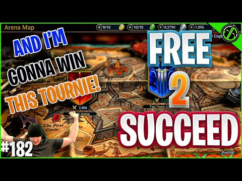My PC Is HAUNTED! Also, This Champ Training Tournie IS MINE BABAAYY!! | Free 2 Succeed - EPISODE 182