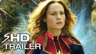 CAPTAIN MARVEL (2019) Avengers 4 Teaser Trailer #1 - Brie Larson Marvel Movie [HD] Concept width=