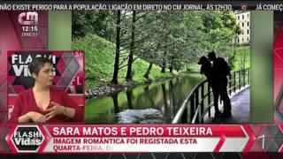 Sara Matos e Pedro Teixeira Publicam Foto a Beijar-se e Desfazem Dúvidas Sobre o Namoro