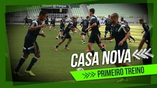 HIGHLIGHTS: Primeiro treino do Palmeiras no Allianz Parque