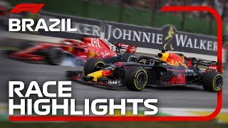 2018 Brazilian Grand Prix: Race Highlights