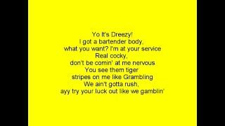 Kayla Brianna Feat Dreezy - Luck LYRICS