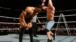 Raw: John Cena vs. David Otunga