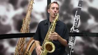 Mendini MTS Tenor Saxophone Demo