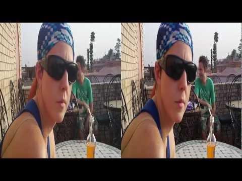 Marrakesh: Alisha at end of day 1