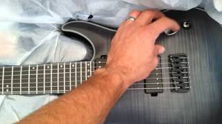 Schecter km7 unboxing