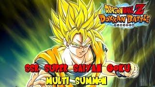 Dragon Ball Z: Dokkan Battle - SSR Super Saiyan Goku - Multi Summon