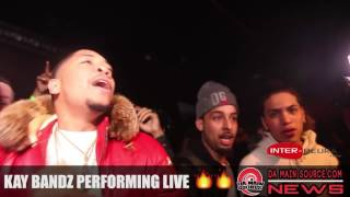 Kay Bandz Performing Live @ Enima concert in Montreal