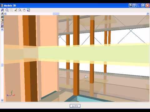 Vista 3D do edifício