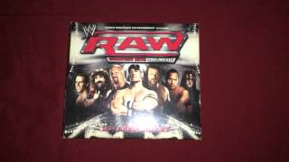 WWE RAW Greatest Hits The Music CD