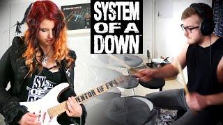 SYSTEM OF A DOWN - I-E-A-I-A-I-O [GUITAR & DRUM COVER] [INSTRUMENTAL COVER] 4K  | Jassy & Kri