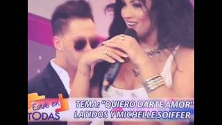 Micheille Soifer cantando quiero Amor