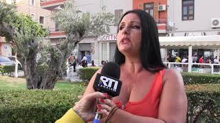 CROTONE: SIT-IN COMITATO TUFOLO FARINA L'AMAREZZA DI GIOVANNA 28 SET