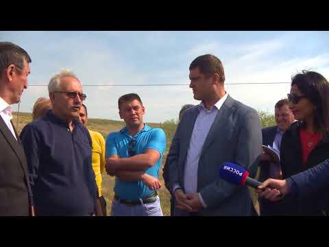 Пресс-тур заместителя Премьер-министра Правительства РБ - министра сельского хозяйства РБ Фазрахманова И.И. в Куюргазинский район