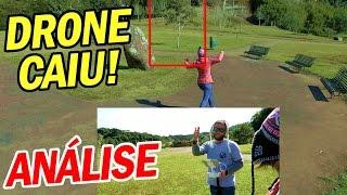 ★ O DRONE CAIU, ANÁLISE DA QUEDA! ★ Vlog de Bordo 78 - Curitiba, Parque Tanguá