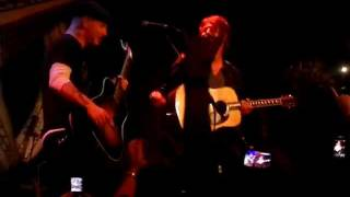 Corey Taylor & Jim Root - Snuff live acoustic Orlando