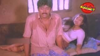 Ponnuchami Malayalam Movie Romantic Scene | Ashokan and Chitra Hot | Malayalam Movies width=