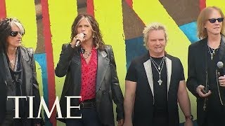 Steven Tyler Tells President Trump To Stop Playing Aerosmith At Rallies | TIME