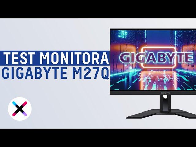ŚWIETNE PARAMETRY W DOBREJ CENIE? 😱 - GIBABYTE M27Q | Recenzja i test monitora dla graczy