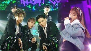 《UNIT》 HIGH4 20 - HookGA (feat. WJSN) @인기가요 Inkigayo 20161009