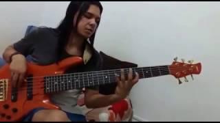 SWINGUEIRA NO BAIXO-Bases em Lá maior do grande Chris bass