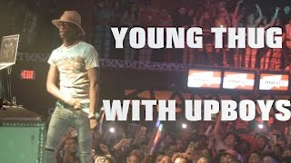UPboys Bring Out Young Thug To Perform Live in Concert at Texas Night Club