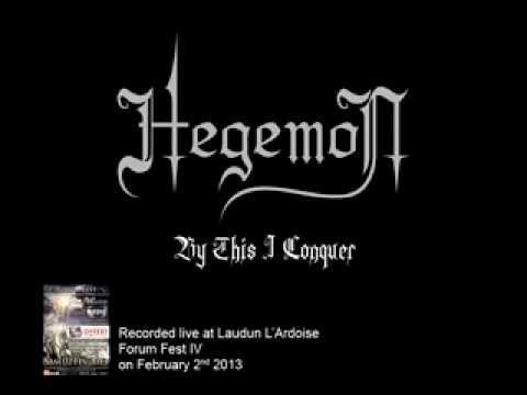 By This I Conquer de Hegemon Letra y Video