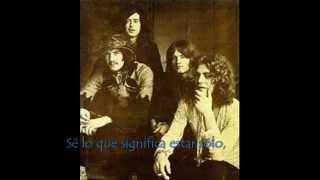 Led Zeppelin - Good Times, Bad Times [Sub. Español]