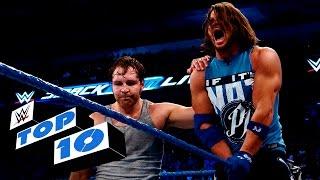 WWE top 10 mejores momento de SmackDown Live (30-08-2016)