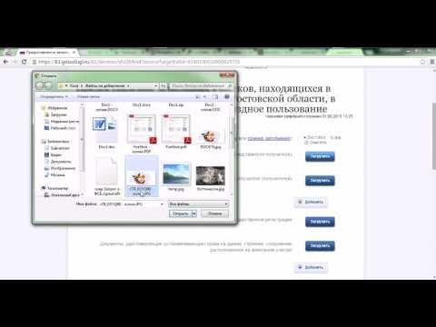 Пример подачи заявления в электронном виде заявителем  для получения государственной услуги