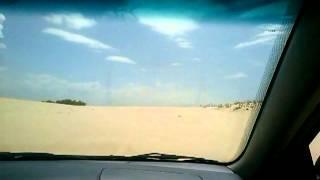 Andando de Corolla automatico nas dunas do cumbuco