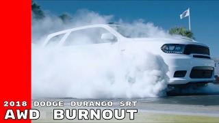 2018 Dodge Durango SRT AWD All Wheel Drive Burnout