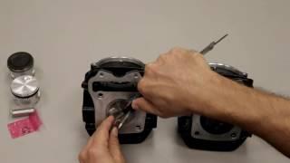 DCR Cam install '14 Honda Grom