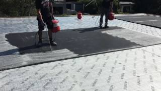 Firestone rubber cover  Application colle epdm