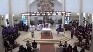 """2017 - """"Louvor e glória a Vós, Jesus Cristo Senhor"""" - Coro Juvenil de São Pedro do Mar, Quarteira"""