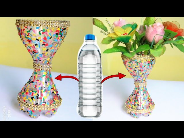 Download Thumbnail For Best Out Of Waste Plastic Flower Vase Plastic