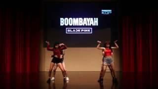 BLACKPINK - BBHMM + 붐바야 (BOOMBAYAH) Dance Cover by NTUKDP [NTU K-pop Concert 2017]