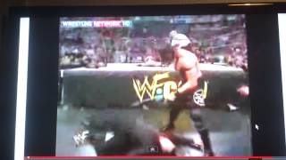 Shane McMahon Clothesline From Hell