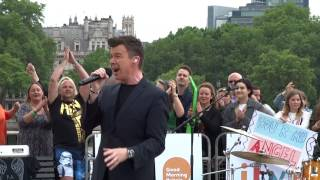 Rick Astley - Live GMTV 2016