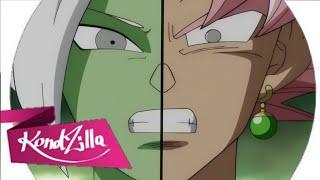 MC Goku Black e Zamasu//MC kevinho e Léo Santana: Ela Encaixa