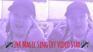 24K Magic Sing Off | Conor Maynard And Alex Aiono | Fan Video | Video Star
